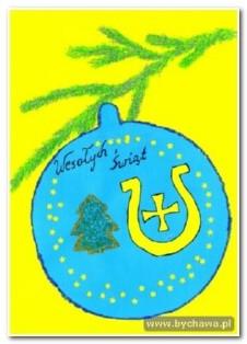 Konkurs na kartkę świąteczną dla uczniów szkół