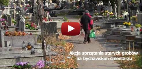 2012-10-26 sprzatanie cmentarza bychawa video