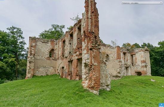 2014-08-13 ruiny palacu podzamcze zamek bychawa