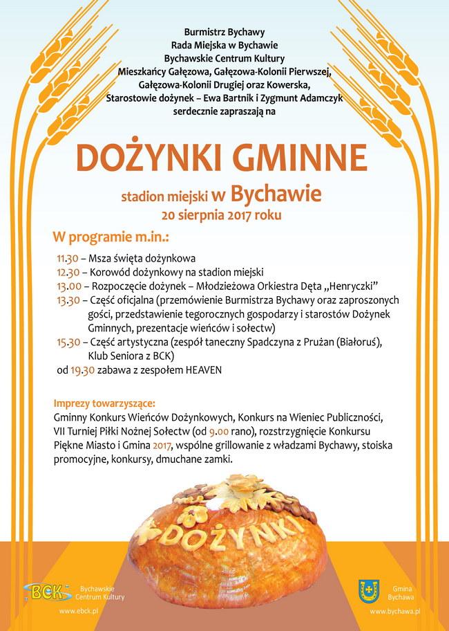 2017-08-11 plakat dozynki gmina bychawa 650